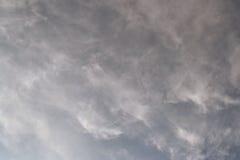 Chmurzący niebo Fotografia Stock