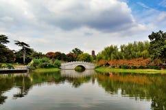 Chnese garden Royalty Free Stock Photo