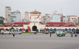 Cho Ben Thanh. Market in Saigon (Ho Chi Minh), Vietnam Royalty Free Stock Photo