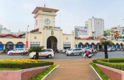 Cho Ben Thanh lub Ben Thanh rynek w Ho Chi Minh mieście Zdjęcie Stock