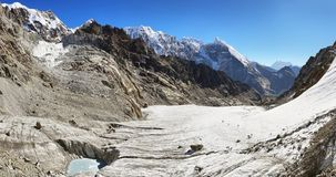 Cho La pass in Everest region stock photo