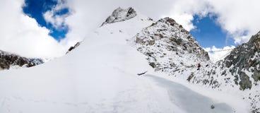 Cho La Pass - Nepal Stock Photo