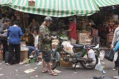 Cho Lon rynek w Ho Chi Minh mieście Fotografia Royalty Free