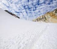 Cho losu angeles przepustka, Everest region, Nepal zdjęcie royalty free