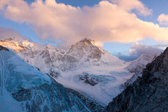 Cho Oyu Sunset Stock Photography