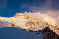 Cho Oyu Sunset Stock Image