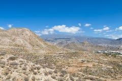 Cho Village And Mountains In Tenerife, Spagna Immagini Stock Libere da Diritti