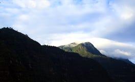 ChoachÃ, de Bergen van Colombia royalty-vrije stock afbeelding