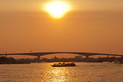 Choapraya river, Thailand Royalty Free Stock Photo