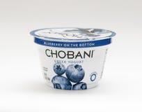 CHOBANI-JOGURT Lizenzfreies Stockfoto