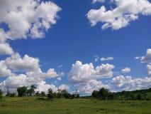 Chobe-Landschaft stockbild