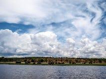 Chobe river Royalty Free Stock Photography