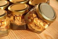 Choc 11 de miel Photo libre de droits