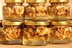 Choc 8 de miel Photo libre de droits