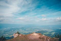 Choc berg, Slovakien royaltyfri foto