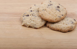 Choc Chip Cookies Royalty Free Stock Image