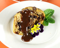 Choc Chip Muffin Royalty Free Stock Images