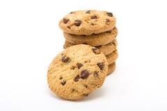 Choc Chip n Hazlenut Biscuits Royalty Free Stock Photo