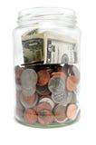 Choc d'argent photo stock