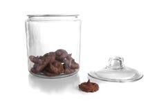 Choc de biscuit Photo stock