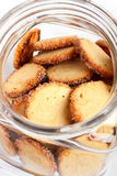 choc de biscuits Images stock