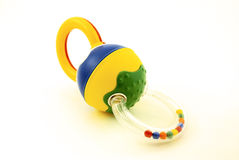Chocalho do bebê Imagem de Stock Royalty Free