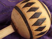 Chocalho do Gourd imagens de stock