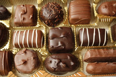 Chocolate candy box Royalty Free Stock Image