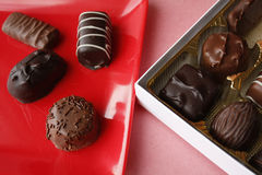 Chocalote candy box Stock Photo