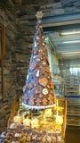 Chocholate甜christmass树 免版税库存图片