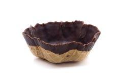一个chocholate饼干 免版税库存图片