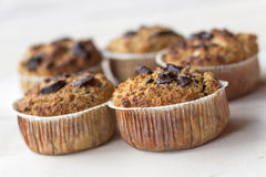 Chocholate chip Muffins Stock Photos