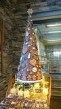 Chocholate sweet christmass tree Royalty Free Stock Images