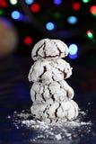 Chocholate Windungen für Weihnachten Lizenzfreie Stockfotos