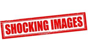 Chockande bilder royaltyfri fotografi