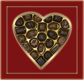Choclate Candy And Background Royalty Free Stock Images