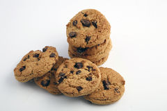 Choclate Chip Cookies Royalty Free Stock Photography