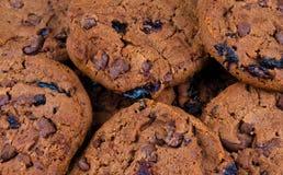 Choclate Cookies Stock Photo