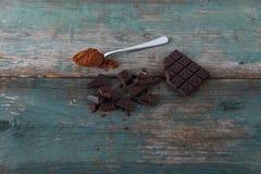 Choclate i kakao zdjęcie royalty free