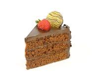 Choclolate蛋糕 免版税库存照片
