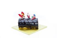 Choco蛋糕 免版税库存照片