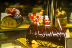 Choco蛋糕 图库摄影