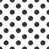 Choco biscuit pattern seamless vector vector illustration