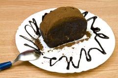 Choco cake Stock Photos