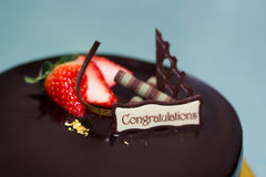 Choco cake Stock Images