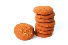 Choco Cashew Butter Cookies Stock Photos