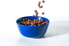 Choco cereals Stock Photo