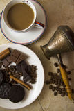 Choco with coffee and cinnamon 20 Stock Photos