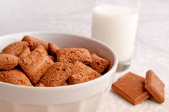 Choco flakes Stock Photos