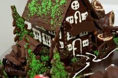 Choco Haus Stockbild